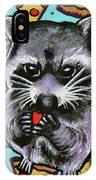 Trash Panda Finds Love IPhone Case