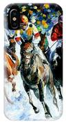 Race On The Snow IPhone Case