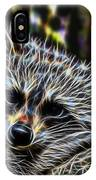 Racoon Fractal IPhone Case