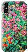 Radford Flower Garden IPhone Case