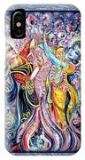 Radha Krishna - Cosmic Dance IPhone Case