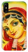 Radha - The Indian Love Goddess IPhone Case