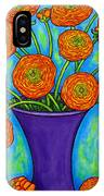 Radiant Ranunculus IPhone Case