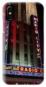 Radio City Music Hall Cirque Du Soleil Zarkana IPhone Case