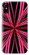 Radioactive Snowflake Red IPhone Case