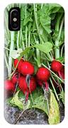 Radish Harvest IPhone Case