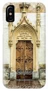 Radovljica Church Door IPhone Case