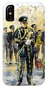 Raf Military Parade In York IPhone Case
