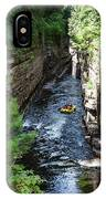 Rafting In A Gorge IPhone Case