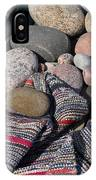 Rag Rugs With Stones And The Dock 3 IPhone Case