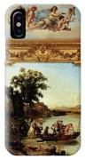 Rahoult Charles Diodore Allegory Of Spring IPhone Case