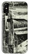 Rail Fence IPhone Case
