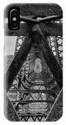 Railroad Trestle Panoramic 2 IPhone Case