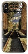 Railroad Trestle IPhone Case