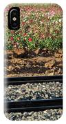 Rails And Roses IPhone Case