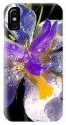 Rain Flower Morning IPhone Case