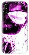 Rain Hot Pink IPhone Case