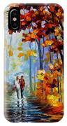 Rain In The Woods IPhone Case
