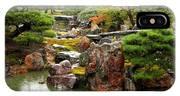 Rain On Kyoto Garden IPhone Case