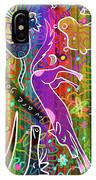 Rainbow Animals Yoga Mat IPhone Case