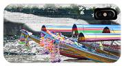 Rainbow Boats Thailand Photo Art IPhone Case