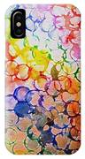 Rainbow Bubbles IPhone Case
