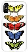 Rainbow Butterflies IPhone X Case