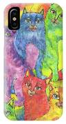 Rainbow Cats 2017 07 01 IPhone Case