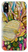 Rainbow-colored Sunfish IPhone Case