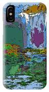 Rainbow Falls Purple IPhone Case