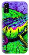 Rainbow Frog 2 IPhone Case