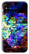 Rainbow Heart On A Wall IPhone Case
