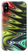 Rainbow In Abstract 05 IPhone Case