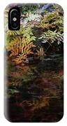 Rainbow Pickle Creek Reflections 6272 H_3 IPhone Case