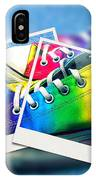 Rainbow Sneakers One IPhone Case