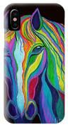 Rainbow Stallion IPhone Case