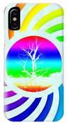 Rainbow Swirl Tree IPhone Case
