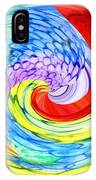 Rainbow Twirl IPhone Case