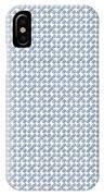 Raindrops Ltblue Pattern IPhone Case