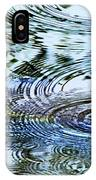 Raindrops On Water IPhone Case