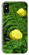 Raindrops On Yellow And Green IPhone Case