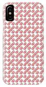 Raindrops Red Pattern IPhone Case