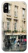 Rainy Bath IPhone Case