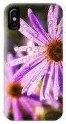 Rainy Day Flowers IPhone Case