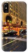 Rainy Day In Manhattan IPhone Case