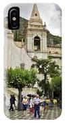 Rainy Day In Taormina 2 IPhone Case
