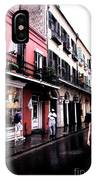Rainy Day On Bourbon Street IPhone Case