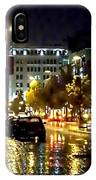 Rainy Night In Green Bay IPhone Case