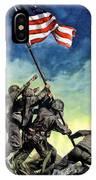 Raising The Flag On Iwo Jima IPhone X Case