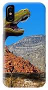 Rajasaurus In The Desert IPhone X Case